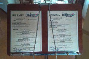 the olive tree restaurant springmenu