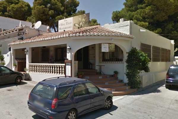 Restaurant The Olive Tree Moraira